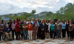 "Some presentations are now available online! The 2nd Caribaea Initiative Research & Conservation Workshop has been held in St Kitts-and-Nevis from May 31 to June 03, 2017 and co-organised with Ross University School of Veterinary Medicine (RUSVM) and the RTPI CNRS ""Caraïbes"". Some presentations can already be downloaded through the dedicated webpage! © Susan Frazier"