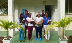 Former les futurs experts Développer l'enseignement supérieur sur la biodiversité dans les Caraïbes © F. Cézilly - Caribaea Initiative